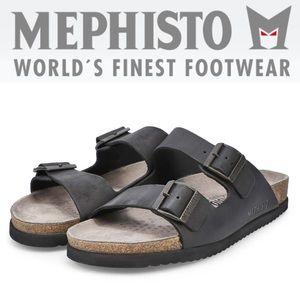 NWOT MEPHISTO Nerio Scratch Sandal in Black